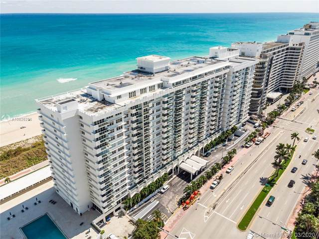 5601 Collins Ave 612A, Miami Beach, FL 33140 (MLS #A10826256) :: Albert Garcia Team