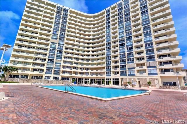 3180 S Ocean Dr #1408, Hallandale Beach, FL 33009 (MLS #A10826311) :: Re/Max PowerPro Realty