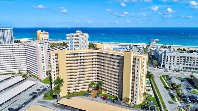 201 N Ocean Blvd #1101, Pompano Beach, FL 33062 (MLS #A10826589) :: The Howland Group