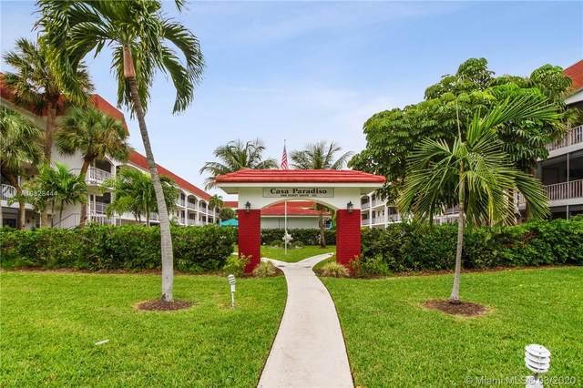 580 Egret Dr #122, Hallandale Beach, FL 33009 (MLS #A10828444) :: Berkshire Hathaway HomeServices EWM Realty