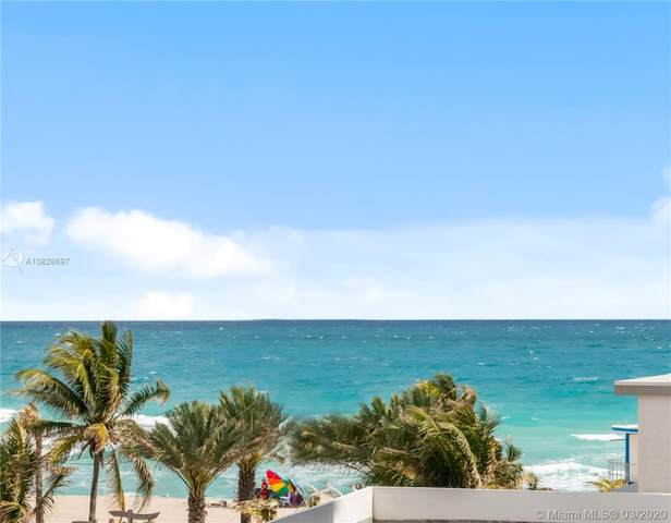 3111 N Ocean Dr #402, Hollywood, FL 33019 (MLS #A10828697) :: Podium Realty Group Inc