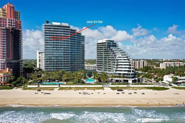 2200 N Ocean Blvd S1702, Fort Lauderdale, FL 33305 (MLS #A10828969) :: Grove Properties