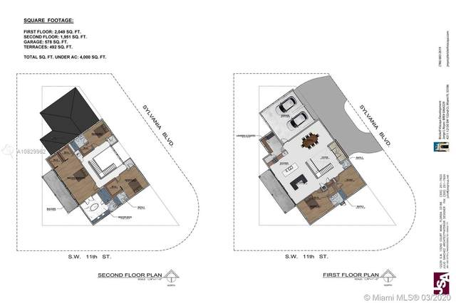 1090 Sylvania Blvd, West Miami, FL 33144 (MLS #A10829962) :: Berkshire Hathaway HomeServices EWM Realty