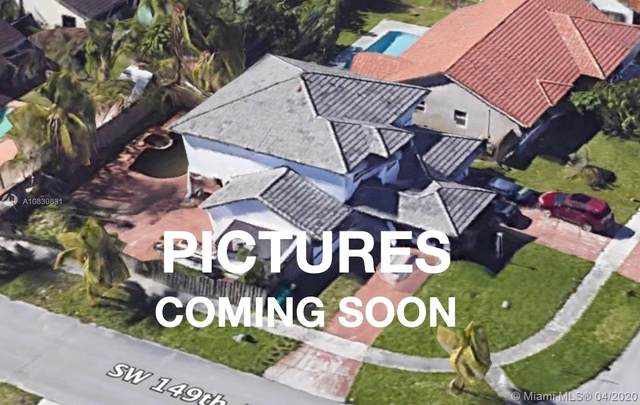 14904 SW 168th Ter, Miami, FL 33187 (MLS #A10830831) :: The Howland Group