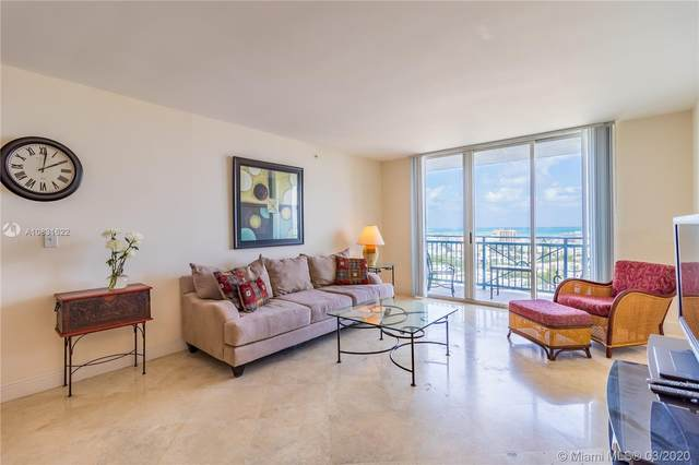 90 Alton Rd #1909, Miami Beach, FL 33139 (MLS #A10831622) :: Castelli Real Estate Services