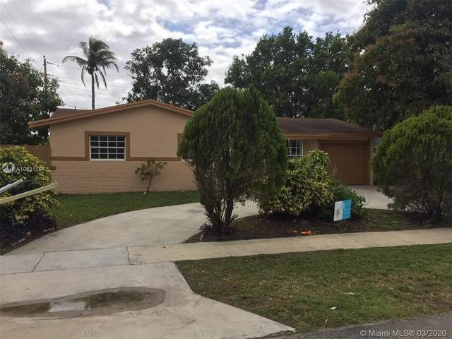 4410 NW 37th St, Lauderdale Lakes, FL 33319 (MLS #A10831784) :: The Jack Coden Group