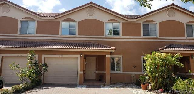 2475 NW 98th Ln, Sunrise, FL 33322 (MLS #A10831927) :: THE BANNON GROUP at RE/MAX CONSULTANTS REALTY I