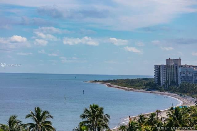 200 Ocean Lane Dr #904, Key Biscayne, FL 33149 (MLS #A10833737) :: Prestige Realty Group
