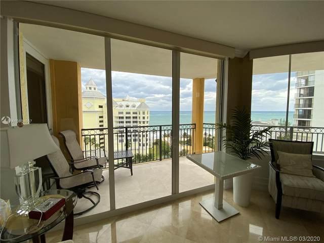 2001 N Ocean Blvd #1201, Fort Lauderdale, FL 33305 (MLS #A10834067) :: Podium Realty Group Inc