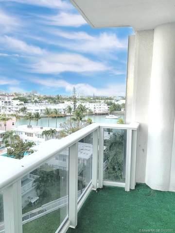 900 Bay Dr #609, Miami Beach, FL 33141 (MLS #A10834364) :: Laurie Finkelstein Reader Team