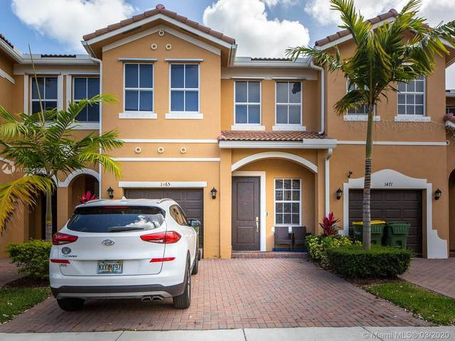 1465 SE 24th Ave #1465, Homestead, FL 33035 (MLS #A10836822) :: THE BANNON GROUP at RE/MAX CONSULTANTS REALTY I