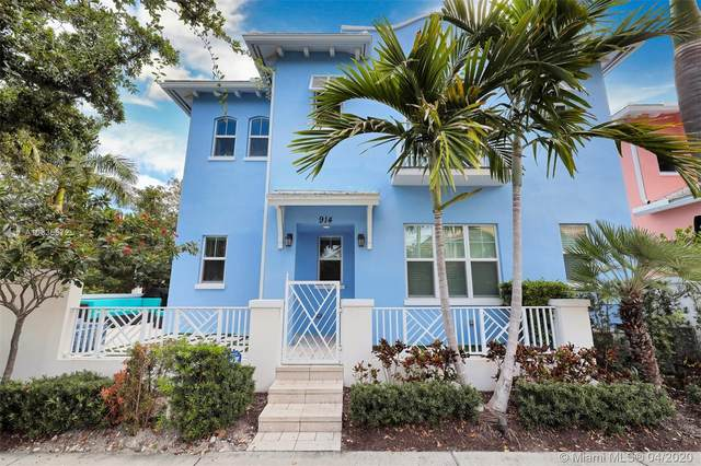 914 NE 17th Way, Fort Lauderdale, FL 33304 (MLS #A10836872) :: The Howland Group
