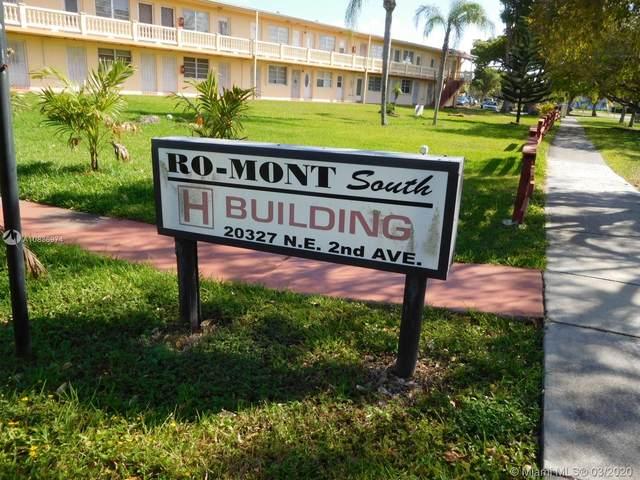20327 NE 2nd Ave #24, Miami, FL 33179 (MLS #A10836974) :: Berkshire Hathaway HomeServices EWM Realty