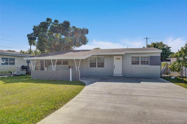 3240 SW 66th Ter, Miramar, FL 33023 (MLS #A10837402) :: United Realty Group