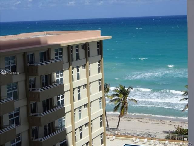 3140 S Ocean Dr #909, Hallandale Beach, FL 33009 (MLS #A10837588) :: ONE Sotheby's International Realty