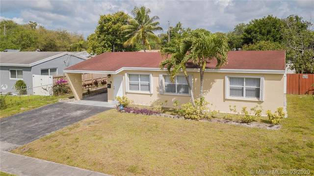 7011 Scott St, Hollywood, FL 33024 (MLS #A10837754) :: United Realty Group
