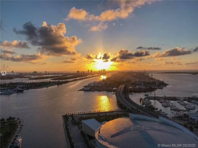 888 Biscayne Blvd #4207, Miami, FL 33132 (MLS #A10837824) :: Albert Garcia Team