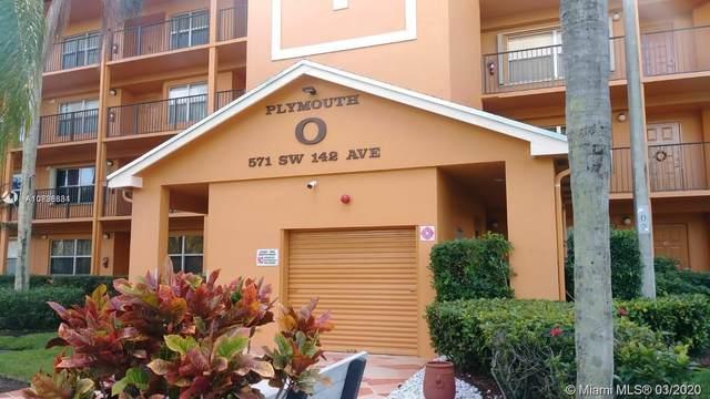 571 SW 142 AVE 311-0, Pembroke Pines, FL 33027 (MLS #A10838634) :: ONE   Sotheby's International Realty