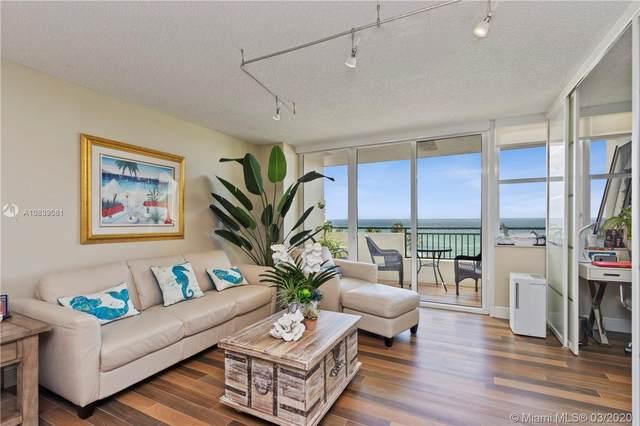 3180 S Ocean Dr #504, Hallandale Beach, FL 33009 (MLS #A10839061) :: Prestige Realty Group