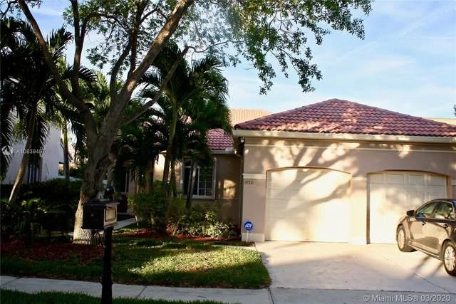 1450 Camellia Cir, Weston, FL 33326 (MLS #A10839457) :: Albert Garcia Team