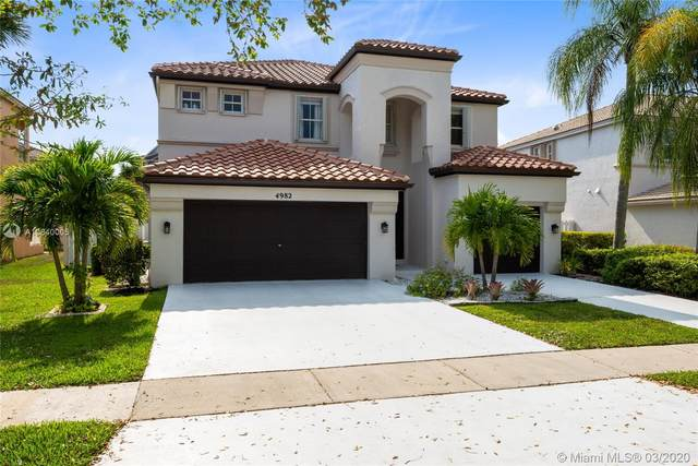 4982 SW 167th Ave, Miramar, FL 33027 (MLS #A10840005) :: United Realty Group