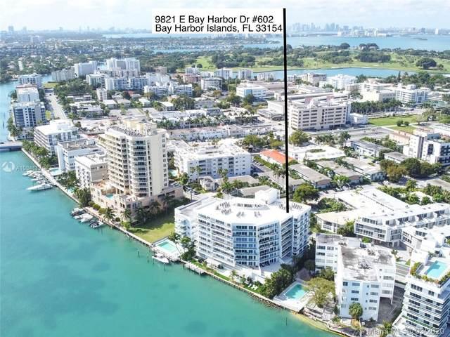9821 E Bay Harbor Dr #602, Bay Harbor Islands, FL 33154 (MLS #A10841121) :: Lucido Global
