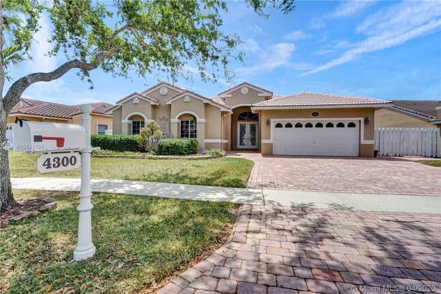 4300 SW 152nd Ave, Miramar, FL 33027 (MLS #A10841195) :: THE BANNON GROUP at RE/MAX CONSULTANTS REALTY I