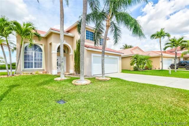 314 SW 183rd Way, Pembroke Pines, FL 33029 (MLS #A10841441) :: Green Realty Properties