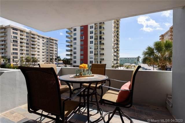 1400 S Ocean Dr #201, Hollywood, FL 33019 (MLS #A10841790) :: Berkshire Hathaway HomeServices EWM Realty
