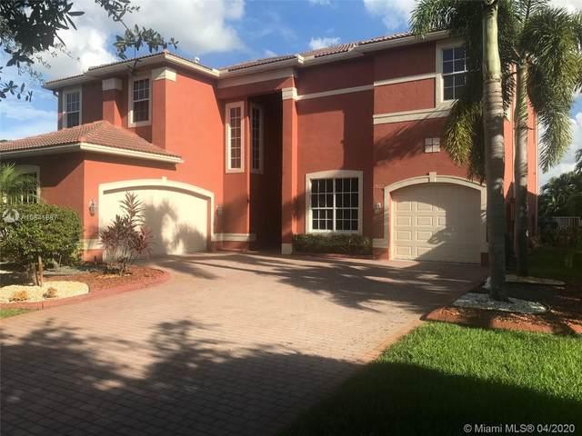 19122 SW 55 St, Miramar, FL 33029 (MLS #A10841887) :: Green Realty Properties