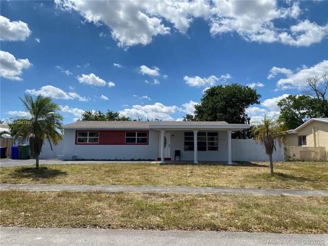 6900 SW 3rd St, Pembroke Pines, FL 33023 (MLS #A10841892) :: Patty Accorto Team