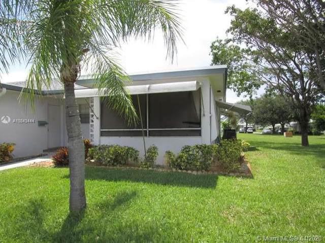 1172 S Drive Cir D, Delray Beach, FL 33445 (MLS #A10843444) :: Grove Properties