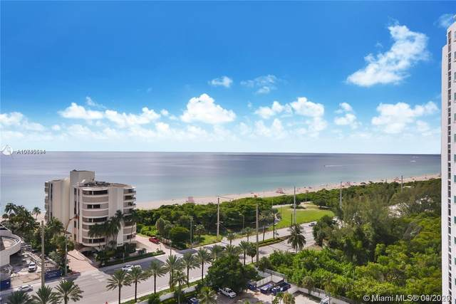 100 Bayview Dr #1011, Sunny Isles Beach, FL 33160 (#A10845594) :: Real Estate Authority