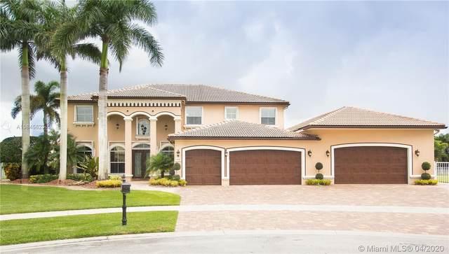4760 Sunkist Way, Cooper City, FL 33330 (MLS #A10845623) :: Green Realty Properties