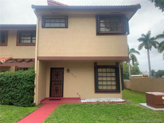5902 SW 133rd Pl, Miami, FL 33183 (MLS #A10845695) :: THE BANNON GROUP at RE/MAX CONSULTANTS REALTY I