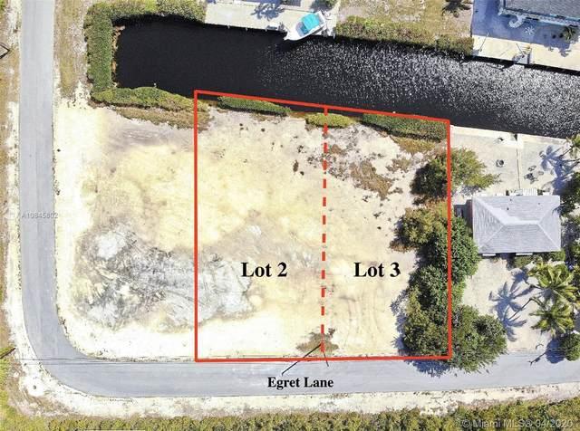 Lots 2 & 3 Egret Ln, Big Pine, FL 33043 (MLS #A10845802) :: Carole Smith Real Estate Team