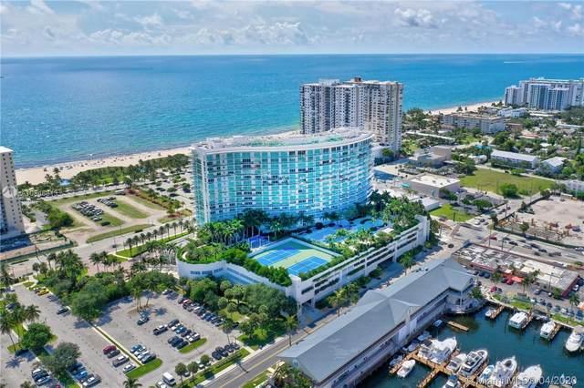 1 N Ocean Blvd #714, Pompano Beach, FL 33062 (MLS #A10846813) :: Lucido Global