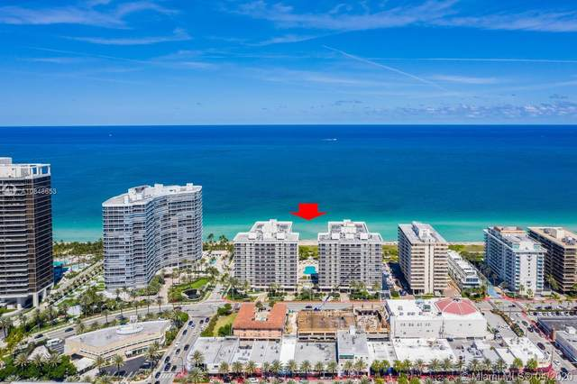 9559 Collins Ave S8-C, Surfside, FL 33154 (MLS #A10848653) :: The Howland Group
