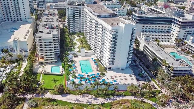 100 Lincoln Rd #843, Miami Beach, FL 33139 (MLS #A10848752) :: Laurie Finkelstein Reader Team