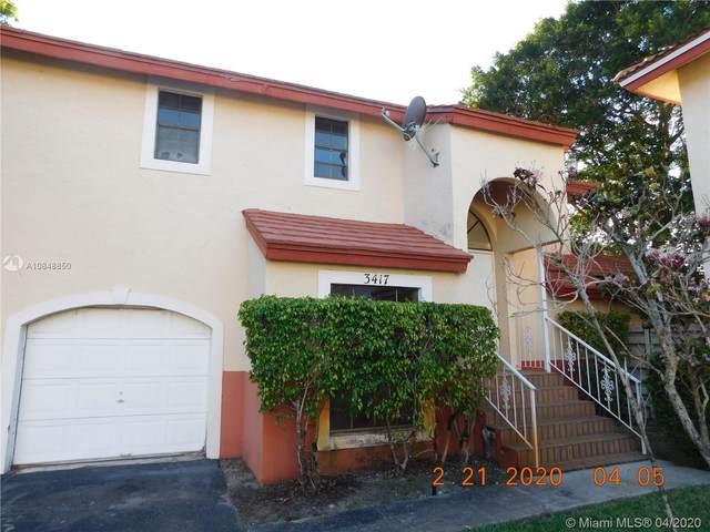 3417 Foxcroft Rd, Miramar, FL 33025 (MLS #A10848850) :: The Riley Smith Group