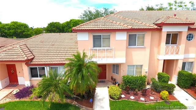 716 NW 208 Way #716, Pembroke Pines, FL 33029 (MLS #A10851190) :: THE BANNON GROUP at RE/MAX CONSULTANTS REALTY I