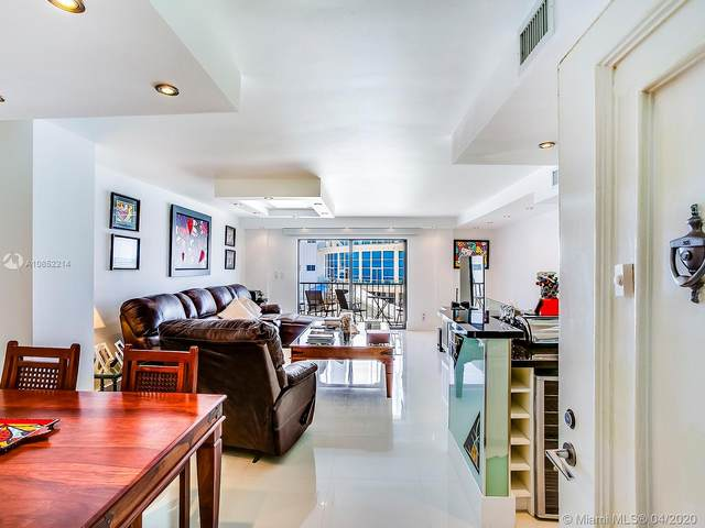 5415 Collins #205, Miami Beach, FL 33140 (MLS #A10852214) :: ONE Sotheby's International Realty