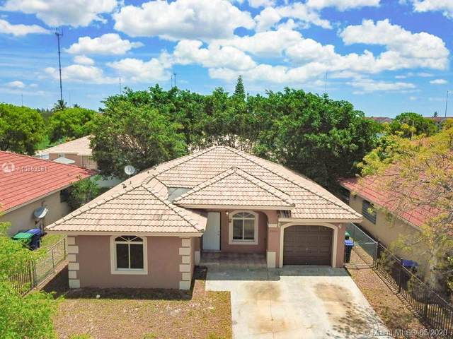 20551 NW 18th Ave, Miami Gardens, FL 33056 (MLS #A10853581) :: The Paiz Group
