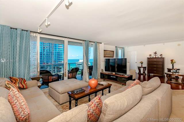 100 Bayview Dr #1215, Sunny Isles Beach, FL 33160 (MLS #A10853775) :: The Paiz Group