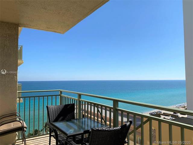 2080 S Ocean Dr #1205, Hallandale Beach, FL 33009 (MLS #A10854017) :: Carole Smith Real Estate Team