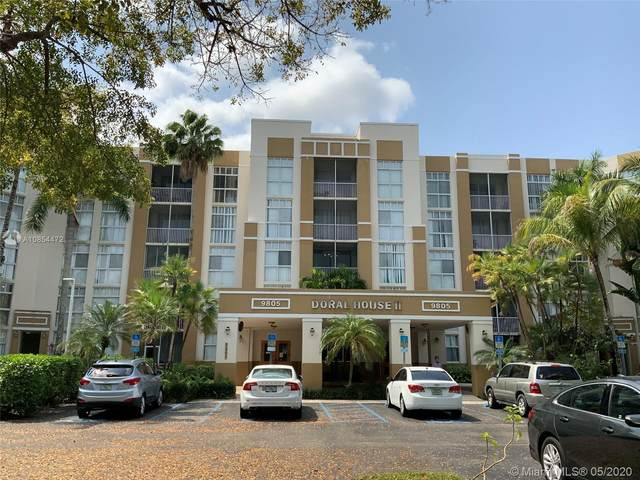 9805 NW 52nd St #313, Doral, FL 33178 (MLS #A10854472) :: The Jack Coden Group