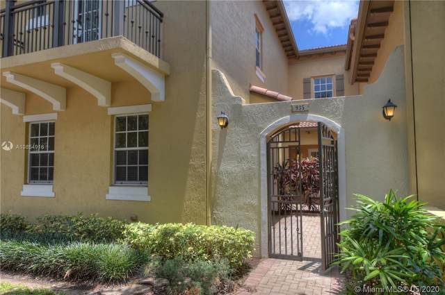 935 SW 147th Ter #935, Pembroke Pines, FL 33027 (MLS #A10854916) :: THE BANNON GROUP at RE/MAX CONSULTANTS REALTY I