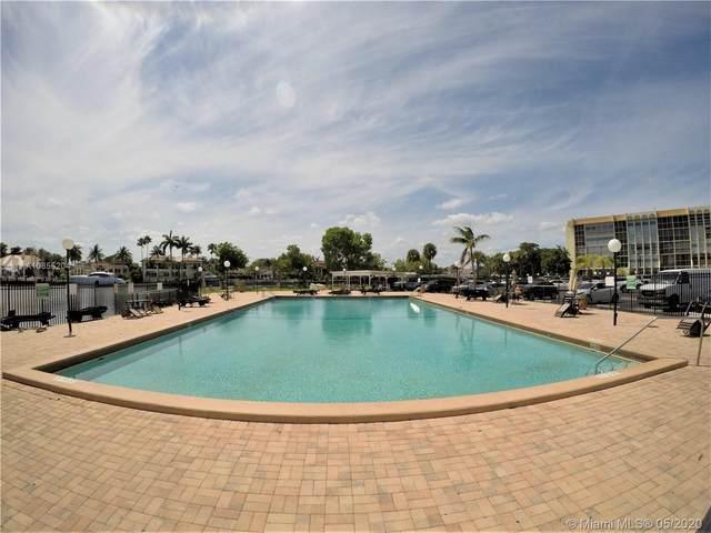 851 Three Islands Blvd #110, Hallandale Beach, FL 33009 (MLS #A10855204) :: Berkshire Hathaway HomeServices EWM Realty