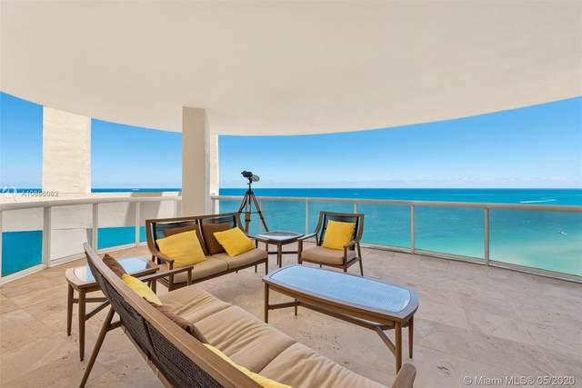 17555 Collins Ave Ph-4, Sunny Isles Beach, FL 33160 (MLS #A10856062) :: United Realty Group