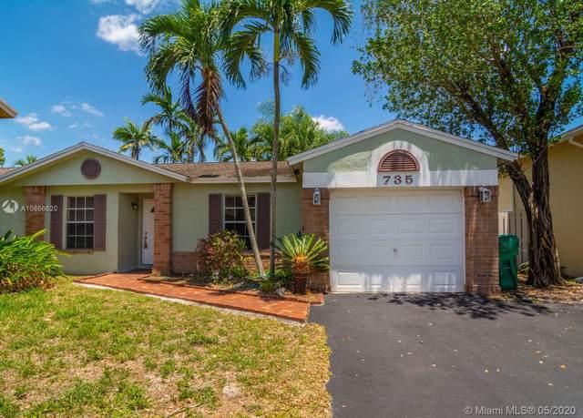 735 Cumberland Ter, Davie, FL 33325 (MLS #A10856620) :: Carole Smith Real Estate Team